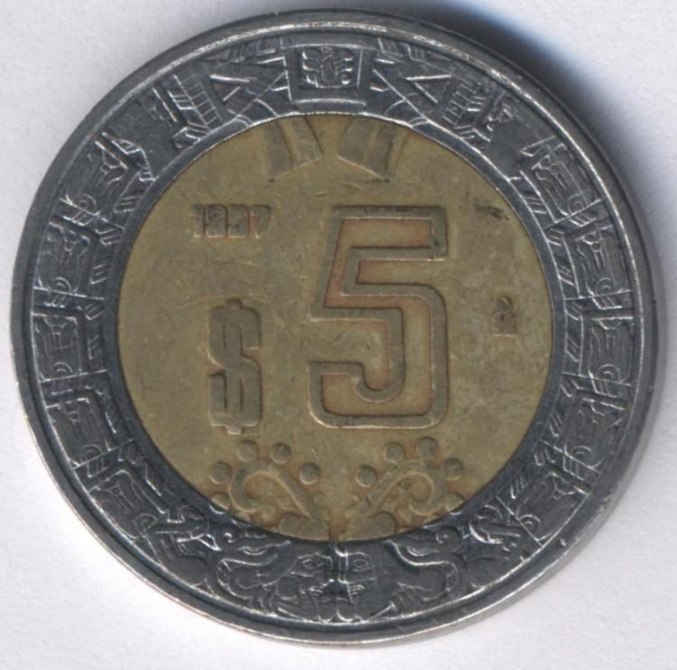 Продажа 5 песо мексика купить 5 песо 2008 мексика