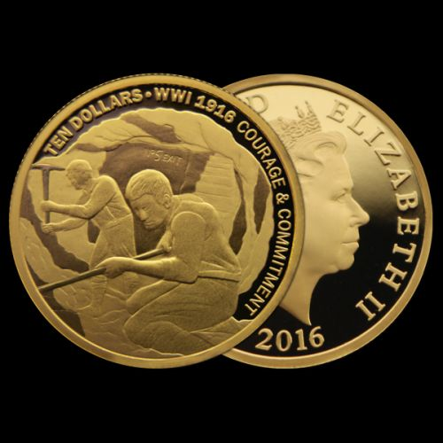 2016_WW1_Gold-Coin