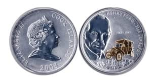 Монета ко дню 1 октября: Австралия и Океания – Генри Форд.