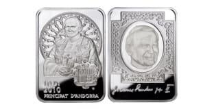 Монета ко дню 17 октября: голографическая монета для Иоанна Павла II.