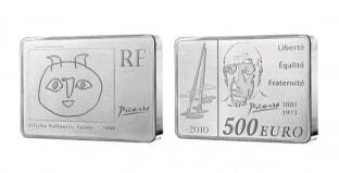 Монета ко дню 25 октября: родился Пабло Пикассо.