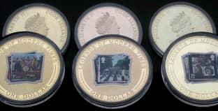 Монета ко дню 28 октября: как на родине стали известны Битлз.