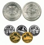 Монета ко дню 30 октября: память о создании Российского Флота.