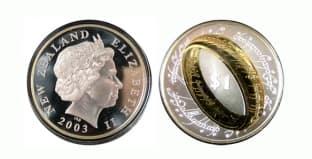 Монета ко дню 31 октября: фильм «Властелин Колец».