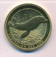 Australia 1 dollar 2008 - Navy seal