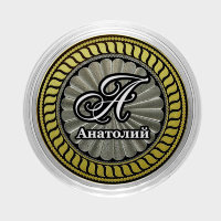 Anatoly - Engraved coin 10 rubles