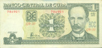 Cuba 1 peso 2002 - josé martí. The rebels