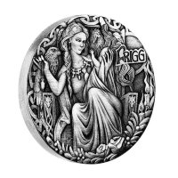 Tuvalu $ 2 2017 - Frigg-wife of Odin