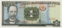 Cuba 1 peso 1995 - josé martí. The rebels