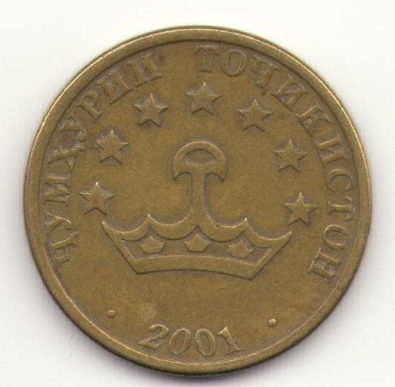 Монета дирам чумхурии точикистон непотеряйка
