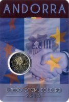 Andorra 2 Euro 2015 - 25 years of the signing of the customs agreement with the EU