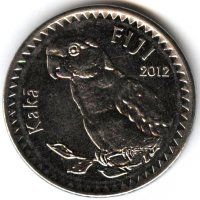 Fiji 20 cents in 2012 - a Cockatoo