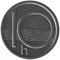 Czech Republic 10 cents 1993 - coat of Arms (crown b)