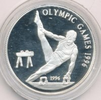 Samoa 1 dollar 1996 Olympic games 1996