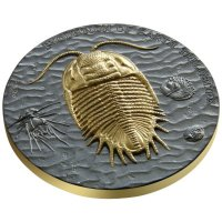 Niue 2 dollar 2016 - Evolution of the Earth-Trilobites