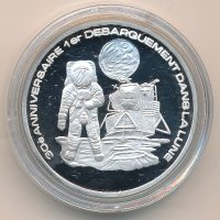 Togo 500 francs 1999 - the Astronaut on the moon