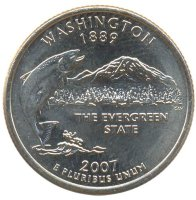 United States 25 cents 2007 - Washington (D)