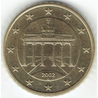 Germany 50 Euro cent 2002 G