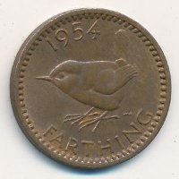 United Kingdom 1 farthing 1954