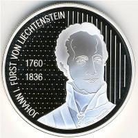 Лихтенштейн 10 франков 2006 год