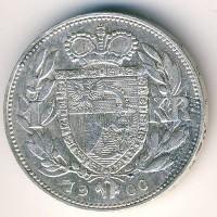 Лихтенштейн 1 крона 1900 год