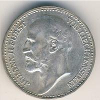 Лихтенштейн 1 крона 1904 год