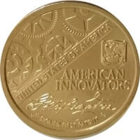 USA 1 dollar 2018 - American innovations - the first patent (P)