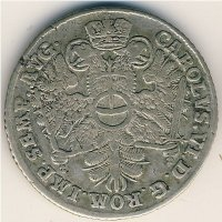 Hamburg 8 shillings 1727