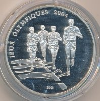 Togo 1000 francs 2003 - the Olympic games in Athens