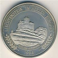 Лихтенштейн 5 экю 1994 год