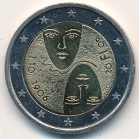 Finland 2 Euro 2006 - 100 years of equal suffrage