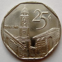Cuba 25 centavos 2006 - St. Francis of Assisi Church in Trinidad