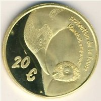 Franz. Southern and Antarctic lands 20 Euro 2004