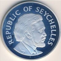 Seychelles 25 rupees 1977 - 25 years of the reign of Queen Elizabeth II