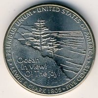 United States 5 cents 2005 - access to the ocean (P)
