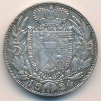 Лихтенштейн 5 франков 1924 год