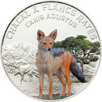 Niger 1000 francs 2012 - the Jackal