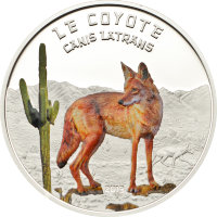 Niger 1000 francs 2013 Coyote