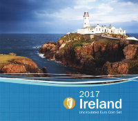 Euro series Ireland 2017 (8 coins) in the banking package