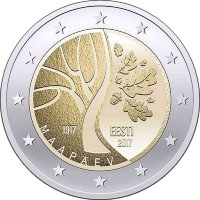 Estonia 2 Euro 2017 Estonia's Road to independence