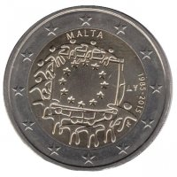 Malta 2 Euro 2015 - 30 years of the flag of Europe