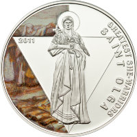 Togo 500 francs 2011 - the Great warrior. Princess Olga