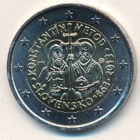 2 Euro Slovakia 2013 - Cyril and Methodius
