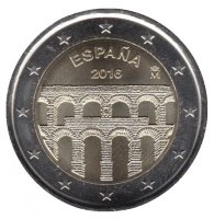 Spain 2 Euro 2016 - Old city of Segovia