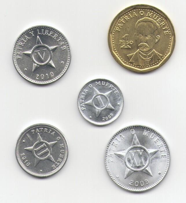 Кубинские монеты из серебра фото