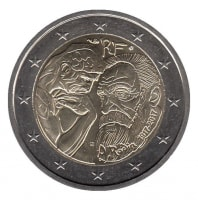 France 2 Euro 2017 - Auguste Rodin