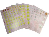 Set of 7 divider sheets for coins of the USSR 1921-1957 year - Standart OPTIMA
