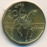 Czech Republic 20 kroner 2004 - Monument