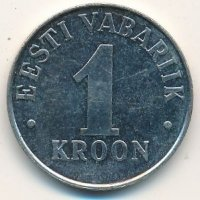 Estonia 1 crown 1995