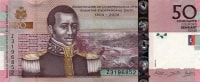 Haiti 50 gourdes 2004 (2013) year of 200 years of Independence Haiti